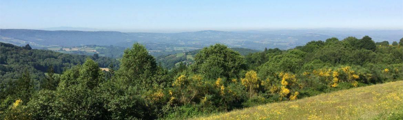 Mein Jakobsweg Galizien Landschaft